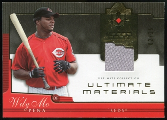 2005 Upper Deck Ultimate Collection Materials #WP Wily Mo Pena Jersey /25