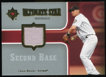 2007 Upper Deck Ultimate Collection Ultimate Star Materials #BI Craig Biggio