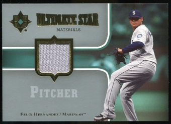 2007 Upper Deck Ultimate Collection Ultimate Star Materials #FH Felix Hernandez