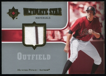 2007 Upper Deck Ultimate Collection Ultimate Star Materials #HP Hunter Pence