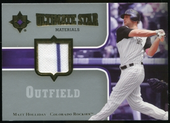 2007 Upper Deck Ultimate Collection Ultimate Star Materials #MH Matt Holliday