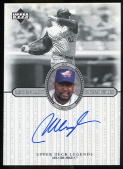 2000 Upper Deck Legends Legendary Signatures #SMV Mo Vaughn Autograph