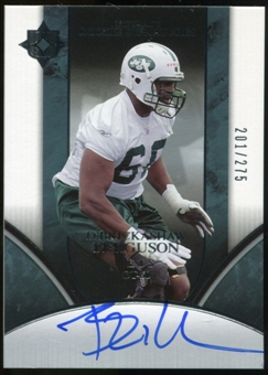 2006 Upper Deck Ultimate Collection #248 D'Brickashaw Ferguson RC Autograph /275