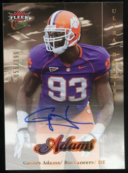 2007 Upper Deck Ultra Rookie Autographs #270 Gaines Adams Autograph /199