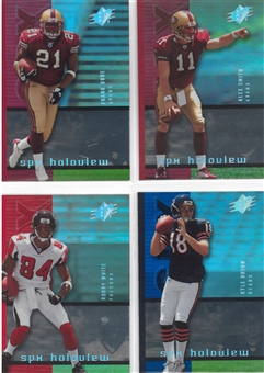 2005 Upper Deck SPX Football Holoview Rookie Lot (49 cards)