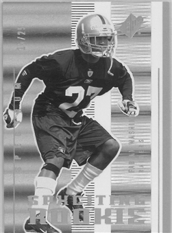 2005 Upper Deck SPX Football SPXciting Rookie Spectrum #125 Fabian Washington #15/25