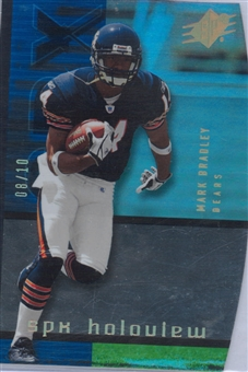 2005 Upper Deck SPX Football Holoview #HV-3 Mark Bradley #8/10
