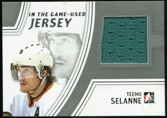 2013-14 In the Game ITG Used Jerseys Silver #GUJ21 Teemu Selanne /50