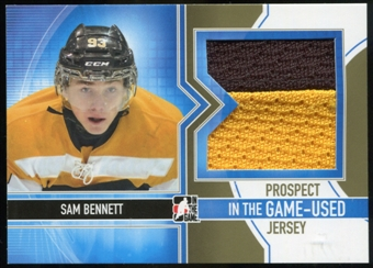 2013-14 In the Game ITG Used Prospect Game Used Jerseys Gold #PJ01 Sam Bennett /10