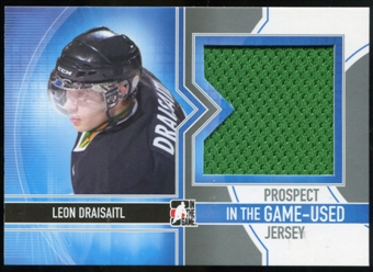 2013-14 In the Game ITG Used Prospect Game Used Jerseys Silver #PJ06 Leon Draisaitl /50