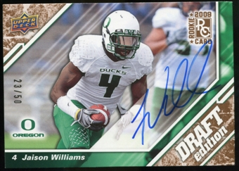 2009 Upper Deck Draft Edition Autographs Copper #29 Jaison Williams Autograph /50