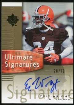 2007 Upper Deck Ultimate Collection Ultimate Signatures #USEW Eric Wright Autograph