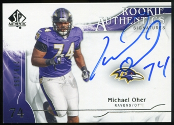 2009 Upper Deck SP Authentic #365 Michael Oher RC Autograph /299