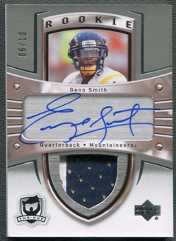 2012/13 The Cup Sidney Crosby Tribute #180GS Geno Smith Rookie Patch Auto #06/10