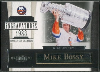 2010/11 Dominion #18 Mike Bossy Engravatures #10/10