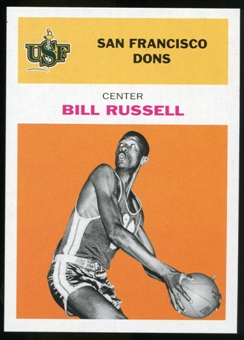 2011/12 Upper Deck Fleer Retro 1961-62 #BR3 Bill Russell Orange