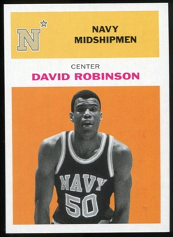 2011/12 Upper Deck Fleer Retro 1961-62 #DR3 David Robinson Orange