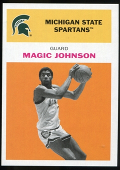 2011/12 Upper Deck Fleer Retro 1961-62 #JO3 Magic Johnson Orange