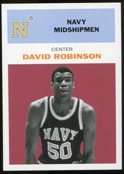 2011/12 Upper Deck Fleer Retro 1961-62 #DR2 David Robinson Dark Red