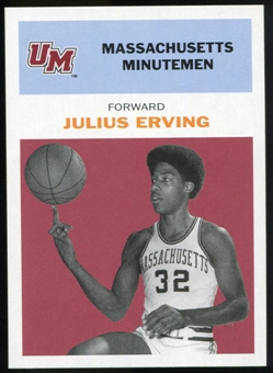 2011/12 Upper Deck Fleer Retro 1961-62 #JE2 Julius Erving Dark Red