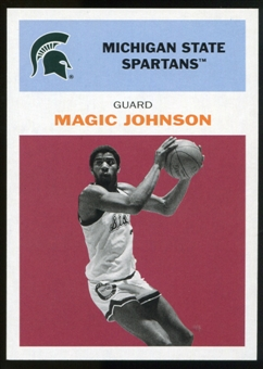 2011/12 Upper Deck Fleer Retro 1961-62 #JO2 Magic Johnson Dark Red
