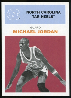 2011/12 Upper Deck Fleer Retro 1961-62 #MJ2 Michael Jordan Dark Red