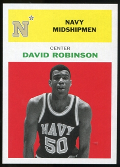 2011/12 Upper Deck Fleer Retro 1961-62 #DR1 David Robinson Bright Red