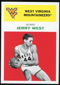 2011/12 Upper Deck Fleer Retro 1961-62 #JW1 Jerry West Bright Red