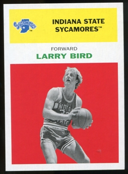 2011/12 Upper Deck Fleer Retro 1961-62 #LB1 Larry Bird Bright Red