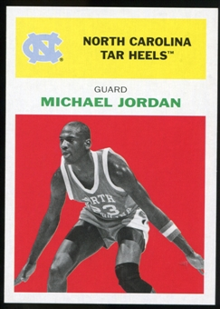 2011/12 Upper Deck Fleer Retro 1961-62 #MJ1 Michael Jordan Bright Red