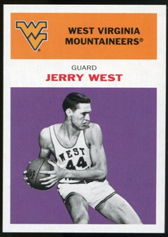 2011/12 Upper Deck Fleer Retro 1961-62 #JW4 Jerry West Purple