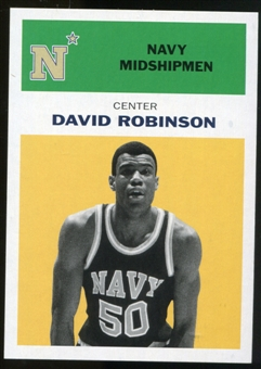 2011/12 Upper Deck Fleer Retro 1961-62 #DR5 David Robinson Yellow