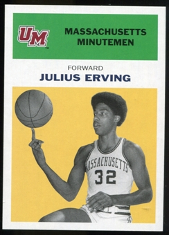 2011/12 Upper Deck Fleer Retro 1961-62 #JE5 Julius Erving Yellow