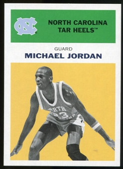 2011/12 Upper Deck Fleer Retro 1961-62 #MJ5 Michael Jordan Yellow