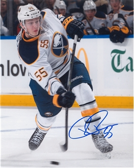 Rasmus Ristolainen Autographed Buffalo Sabres Shooting 8x10 Photo