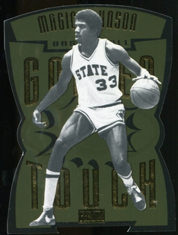 2011/12 Upper Deck Fleer Retro Golden Touch #3 Magic Johnson