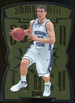 2011/12 Upper Deck Fleer Retro Golden Touch #15 Jimmer Fredette