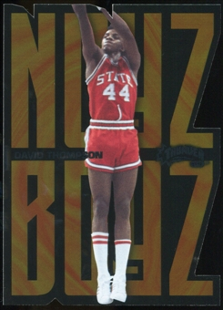 2011/12 Upper Deck Fleer Retro Noyz Boyz #8 David Thompson