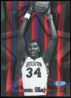 2011/12 Upper Deck Fleer Retro Ultra Stars #8 Hakeem Olajuwon
