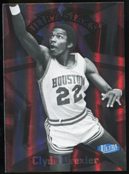 2011/12 Upper Deck Fleer Retro Ultra Stars #16 Clyde Drexler