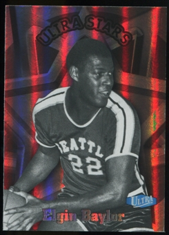 2011/12 Upper Deck Fleer Retro Ultra Stars #22 Elgin Baylor