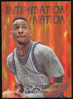 2011/12 Upper Deck Fleer Retro Intimidation Nation #3 Alonzo Mourning