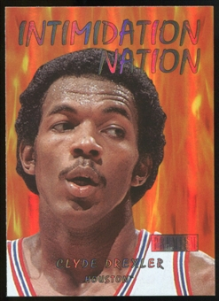 2011/12 Upper Deck Fleer Retro Intimidation Nation #4 Clyde Drexler