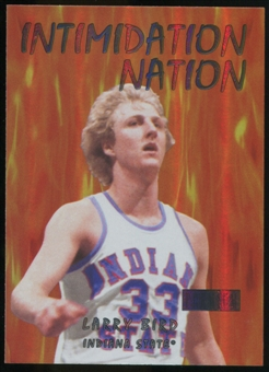 2011/12 Upper Deck Fleer Retro Intimidation Nation #6 Larry Bird