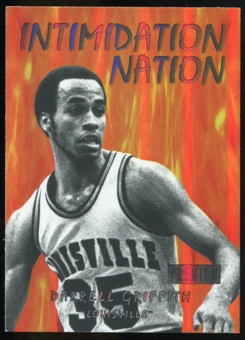 2011/12 Upper Deck Fleer Retro Intimidation Nation #7 Darrell Griffith