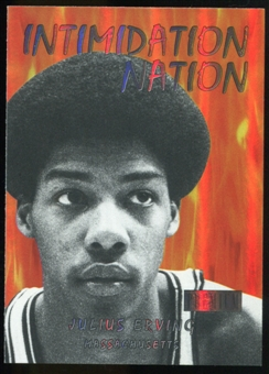 2011/12 Upper Deck Fleer Retro Intimidation Nation #8 Julius Erving