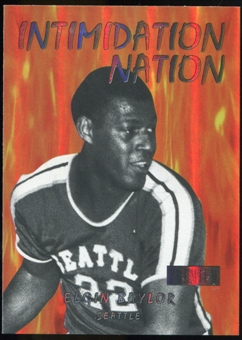 2011/12 Upper Deck Fleer Retro Intimidation Nation #17 Elgin Baylor