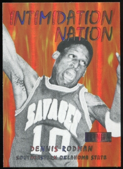 2011/12 Upper Deck Fleer Retro Intimidation Nation #18 Dennis Rodman