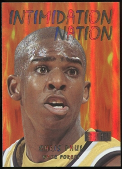 2011/12 Upper Deck Fleer Retro Intimidation Nation #24 Chris Paul