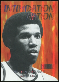 2011/12 Upper Deck Fleer Retro Intimidation Nation #28 Adrian Dantley